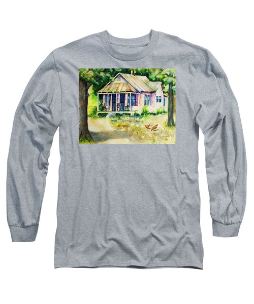 The Old Place Long Sleeve T-Shirt by Rebecca Korpita