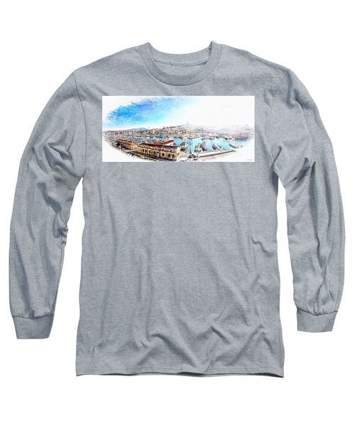 The Old Port Of Marseille  2 Long Sleeve T-Shirt