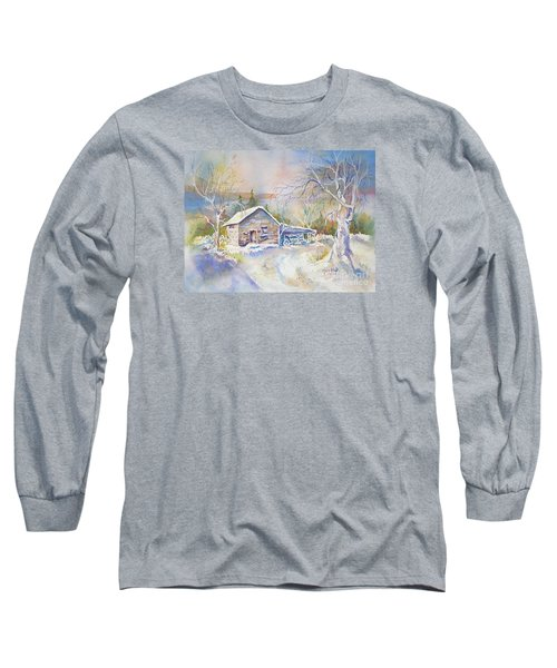 The Old Shed Long Sleeve T-Shirt by Mary Haley-Rocks