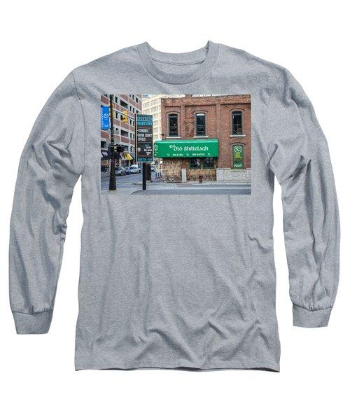 The Old Shillelagh Detroit  Long Sleeve T-Shirt