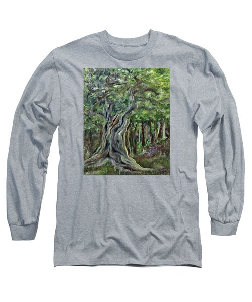 The Om Tree Long Sleeve T-Shirt