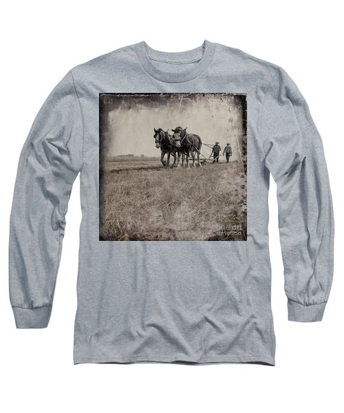 The Original Horsepower Long Sleeve T-Shirt