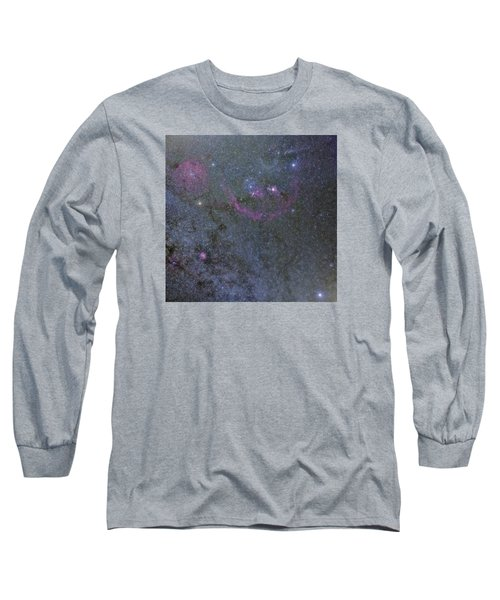 Long Sleeve T-Shirt featuring the photograph The Orion Complex by Charles Warren