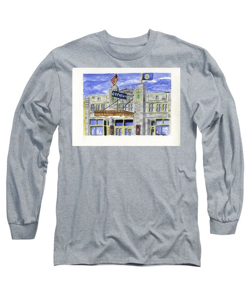 The Orpheum Long Sleeve T-Shirt by Rodger Ellingson