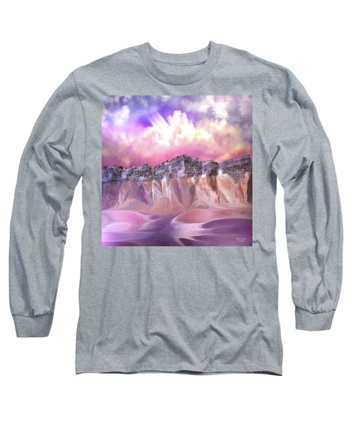 The Painted Sand Rocks Long Sleeve T-Shirt