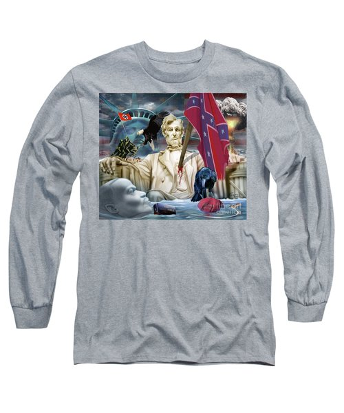 The Party Of Lincoln Days At An End Long Sleeve T-Shirt