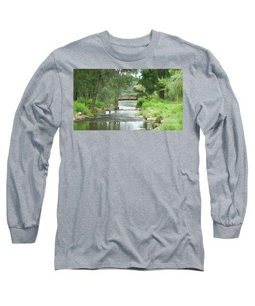 The Pasture's Bridge Long Sleeve T-Shirt