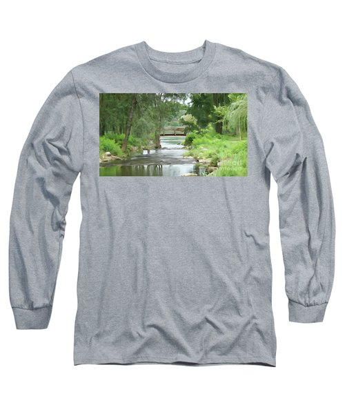 The Pasture's Bridge Long Sleeve T-Shirt
