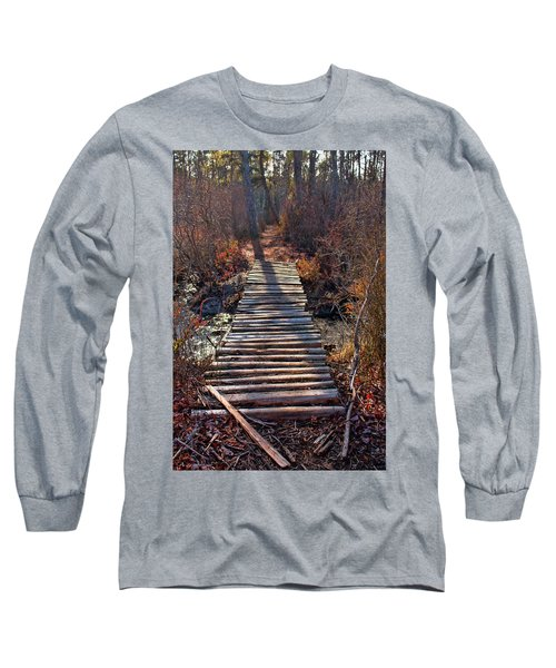 The Path Less Traveled  Long Sleeve T-Shirt