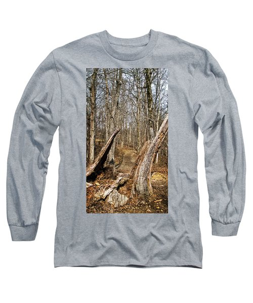The Path Through The Woods Long Sleeve T-Shirt