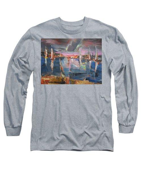 The Pink Bay Long Sleeve T-Shirt