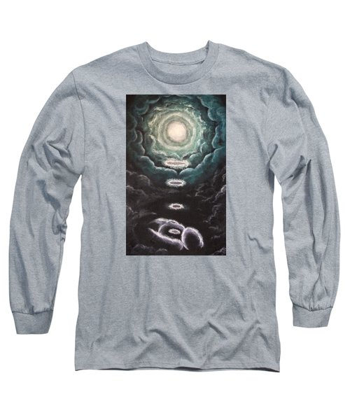 Long Sleeve T-Shirt featuring the painting The Planting by Cheryl Pettigrew