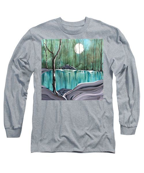 The Pond Long Sleeve T-Shirt by Pat Purdy