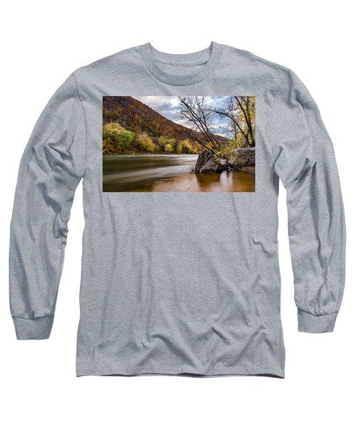 The Shenandoah In Autumn Long Sleeve T-Shirt