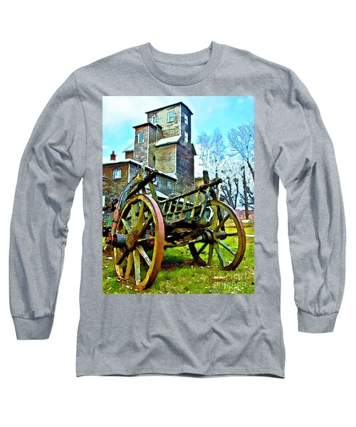 Long Sleeve T-Shirt featuring the photograph The Pottery - Bennington, Vt by Tom Cameron