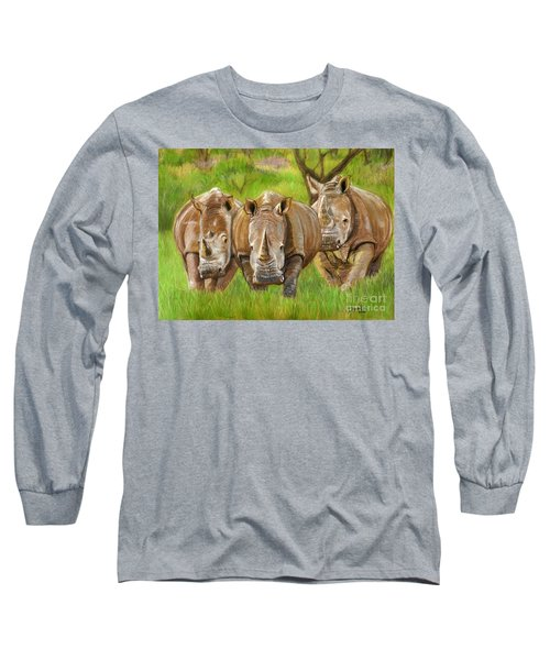 The Power In Three Long Sleeve T-Shirt