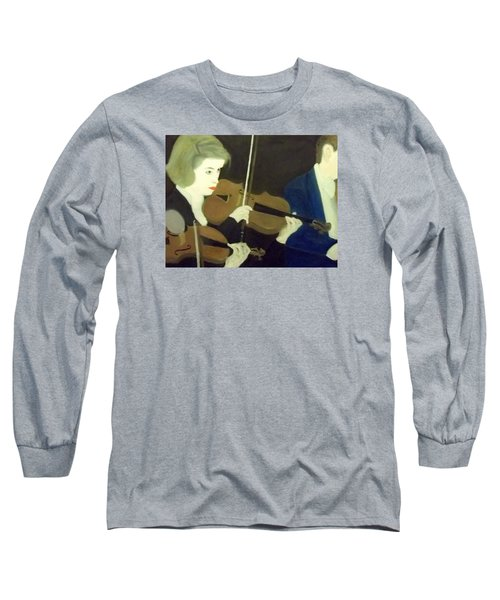 The Prettiest Violinist In The Orchestra Long Sleeve T-Shirt