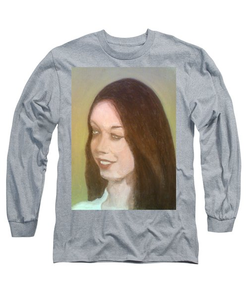 The Pretty Brunette Long Sleeve T-Shirt