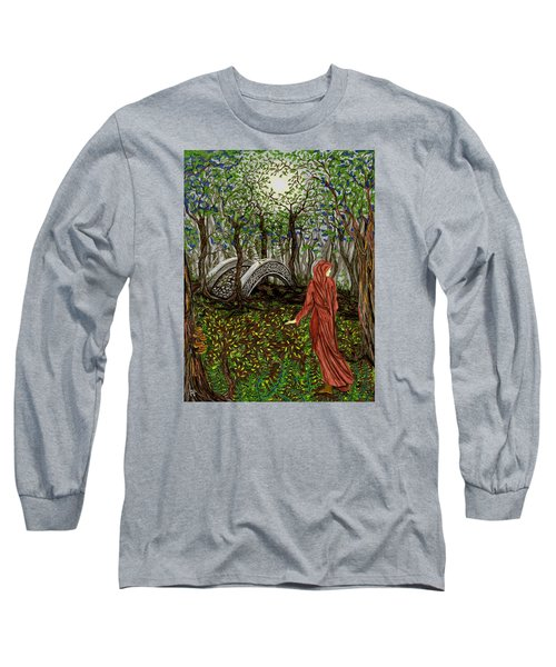 The Priestess Of Ealon Long Sleeve T-Shirt by FT McKinstry