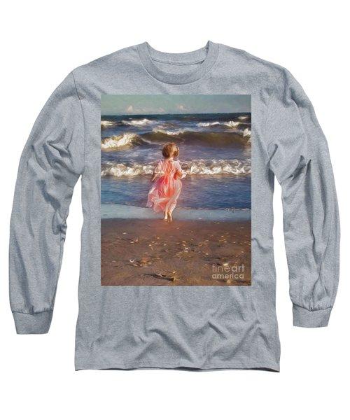 The Princess And The Sea Long Sleeve T-Shirt