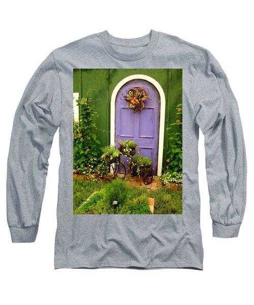 The Purple Door Long Sleeve T-Shirt
