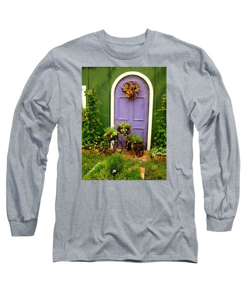 The Purple Door Long Sleeve T-Shirt