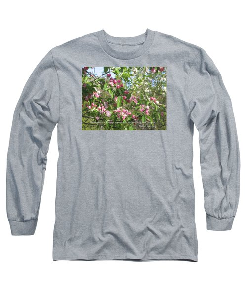 The Quality Of Your Thoughts Long Sleeve T-Shirt by Deborah Dendler