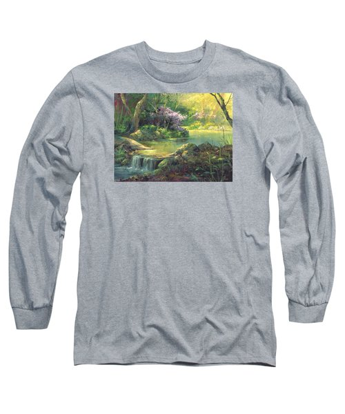 The Quiet Creek Long Sleeve T-Shirt by Michael Humphries