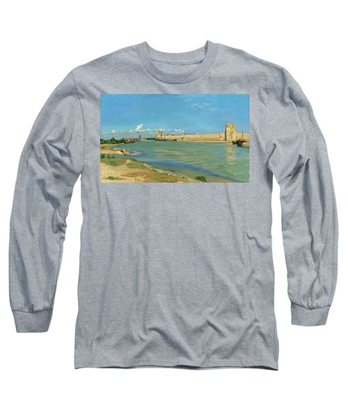 The Ramparts At Aigues Mortes Long Sleeve T-Shirt