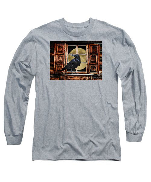 The Raven Long Sleeve T-Shirt by Suzanne Handel