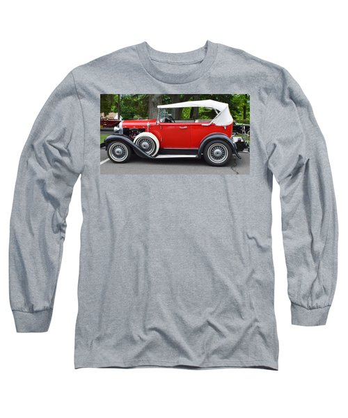 The Red Convertible Long Sleeve T-Shirt