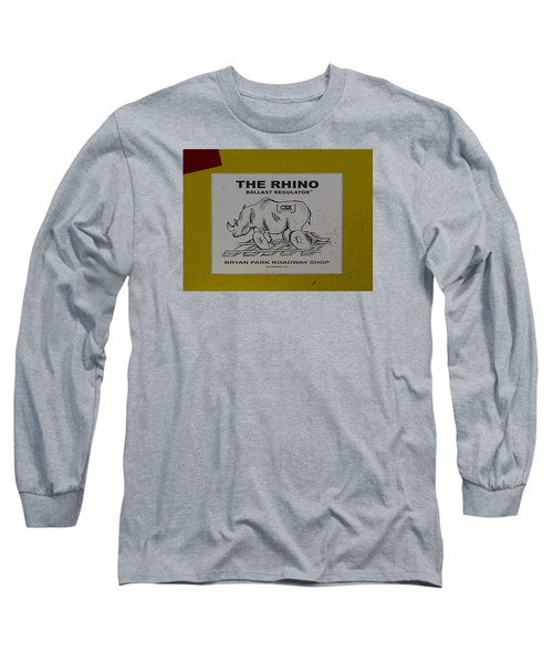 The Rhino Ballast Regulator Long Sleeve T-Shirt
