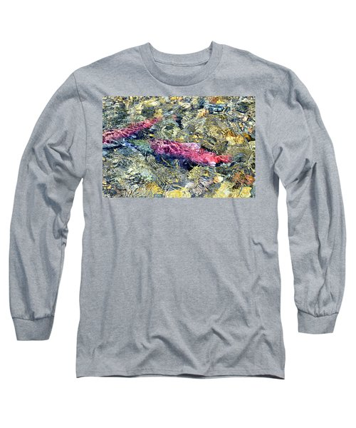 Long Sleeve T-Shirt featuring the photograph The Ripple Effect by David Lawson