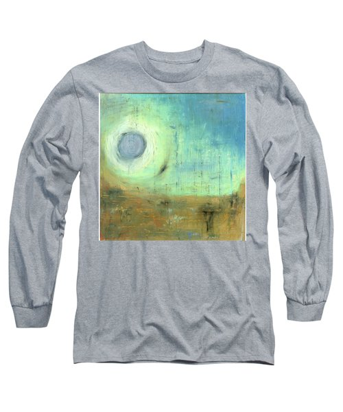 Long Sleeve T-Shirt featuring the painting The Rising Sun by Michal Mitak Mahgerefteh