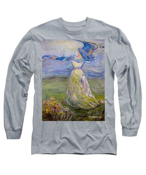 The River Is Here Long Sleeve T-Shirt