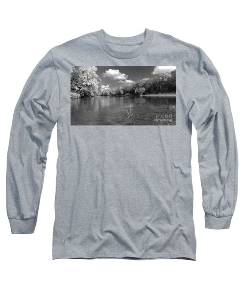 The Rivers Bend  Long Sleeve T-Shirt by Scott D Van Osdol