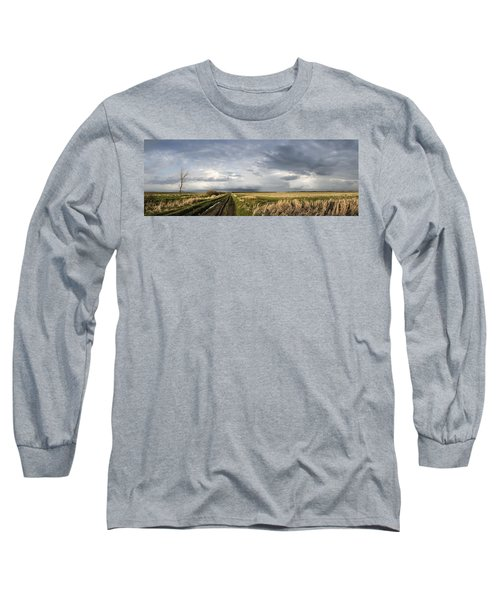 The Road Is Never Easy Long Sleeve T-Shirt