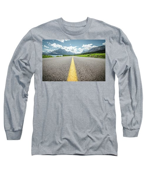 The Road To Glacier Long Sleeve T-Shirt