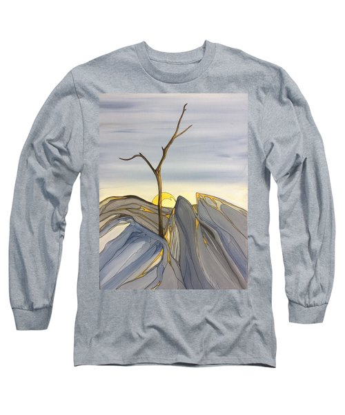 The Rock Garden Long Sleeve T-Shirt by Pat Purdy