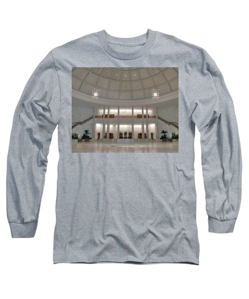 The Rotunda 8 X 10 Crop Long Sleeve T-Shirt