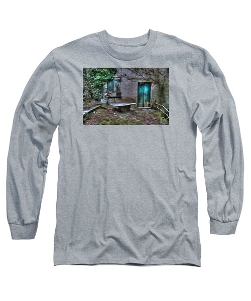 The Round Table House In The Abandoned Village Of The Ligurian Mountains High Way Long Sleeve T-Shirt