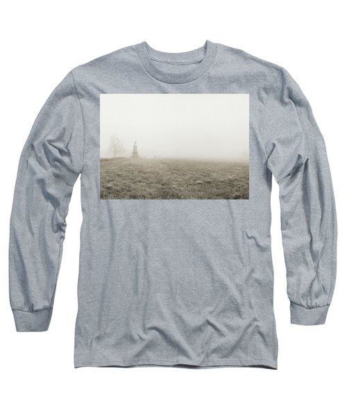 The Running Man Long Sleeve T-Shirt by Jan W Faul