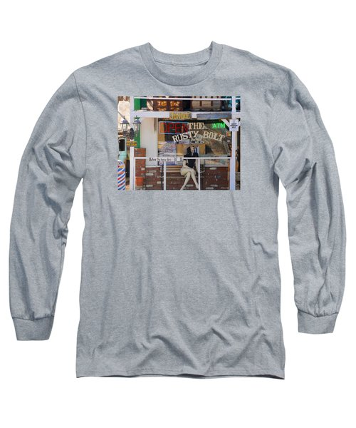 The Rusty Bolt - Seligman, Historic Route 66 Long Sleeve T-Shirt