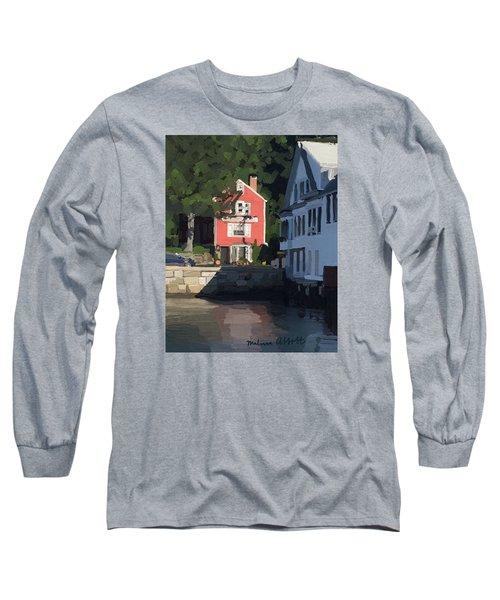 The Sacred Cod And Beacon Marine Basin Long Sleeve T-Shirt