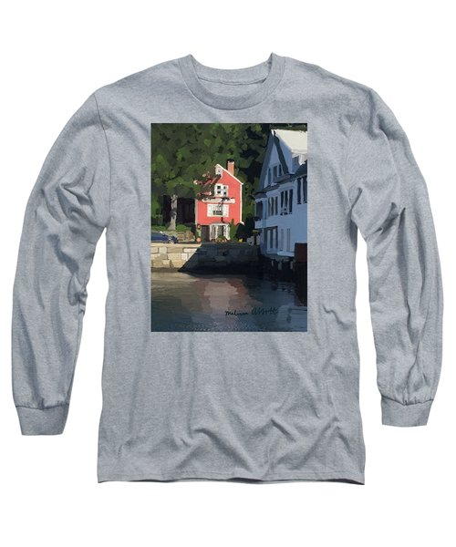 The Sacred Cod And Beacon Marine Long Sleeve T-Shirt
