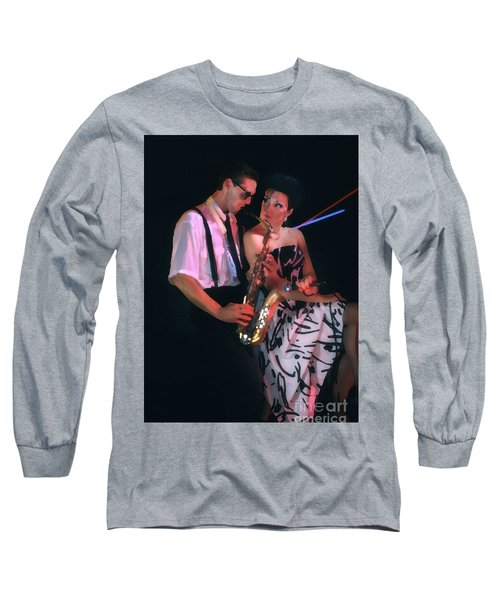 The Sax Man And The Girl Long Sleeve T-Shirt