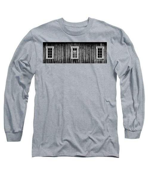 Long Sleeve T-Shirt featuring the photograph The School House by Brad Allen Fine Art