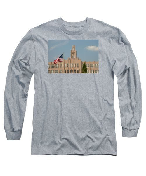 Long Sleeve T-Shirt featuring the photograph The School On The Hill by Mark Dodd