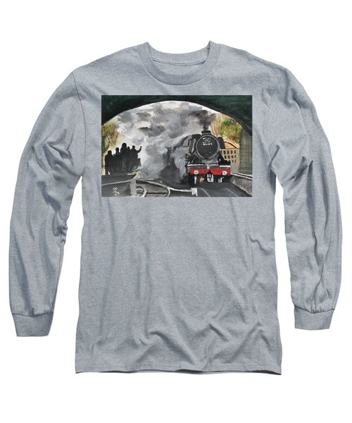 The Scotsman Long Sleeve T-Shirt by Carole Robins