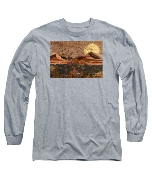 The Scream Of A Butterfly Long Sleeve T-Shirt by Stanza Widen